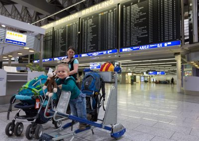 Checkin Frankfurt Flughafen, Deutschland