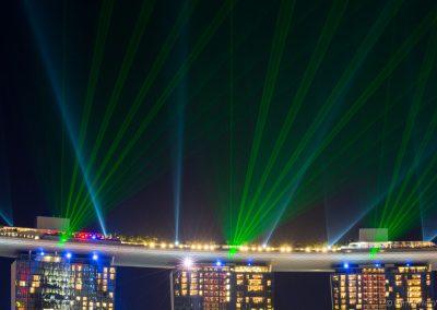 Lasershow Marina Bay, Singapur