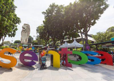 Merlion Walk, Sentosa Island, Singapur