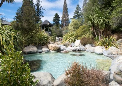 Thermal Pools, Hanmer Springs, Neuseeland