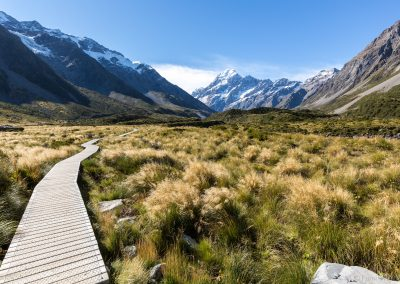 Hooker valley track, Mt Cook NP, Neuseeland