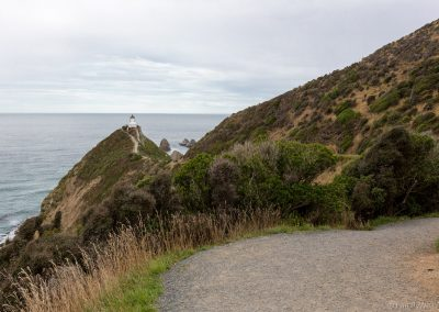 Leuchtturm am Nugget Point, Catlins, Neuseeland