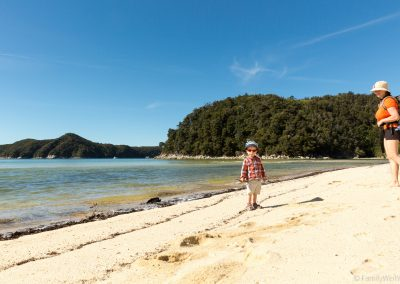 Torrent Bay, Abel Tasman NP, Neuseeland