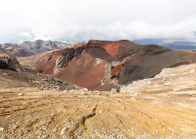 Red Crater, Tongariro NP, Neuseeland