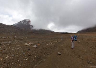 South Crater, Tongariro NP, Neuseeland
