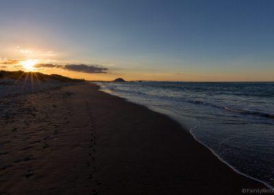 Papamoa Beach, Bay of Plenty, Neuseeland