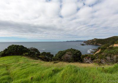 Blick über die Whangaruru Bay, Northland, Neuseeland