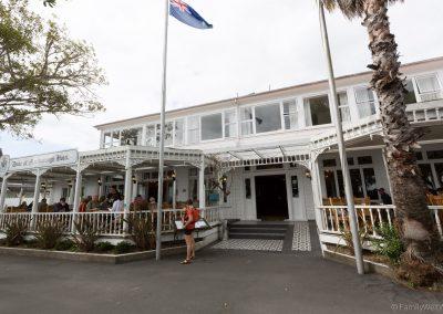 Das bekannte Duke of Marlborough Hotel in Russel, Bay of Island, Nortland, Neuseeland