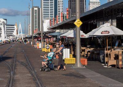 Hafenbereich, Auckland, Neuseeland