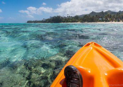 Titikaveka Beach, Rarotonga, Cookinseln