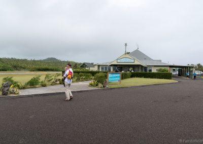 Airport Aitutaki, Cookinseln