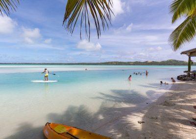 Ootu Beach, Aitutaki, Cookinseln