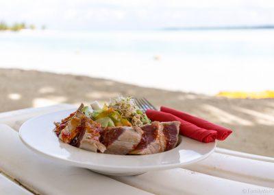 Thunfischsalat, Aitutaki, Cookinseln