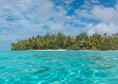 McBirney's House auf One Foot Island, Lagoon Cruise , Aitutaki,