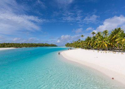 Tekopua und One Foot Island, Lagoon Cruise , Aitutaki, Cookinseln