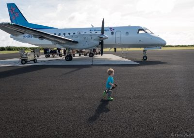 Rückflug nach Rarotonga, Aitutaki, Cookinseln