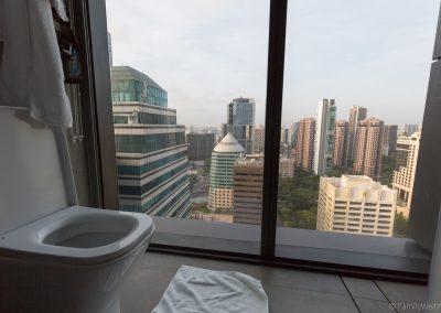 Ausblick vom Hotel, Yotel Singapur