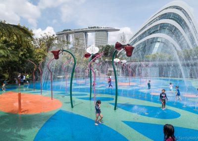 Kinderwasserspielplatz, Gardens by the Bay, Singapur