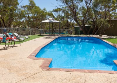 Swimmingpool am Campingplatz, Wave Rock, West-Australien