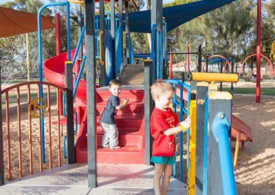Spielplatz Hammond Park, Kalgoorlie-Boulder, West-Australien