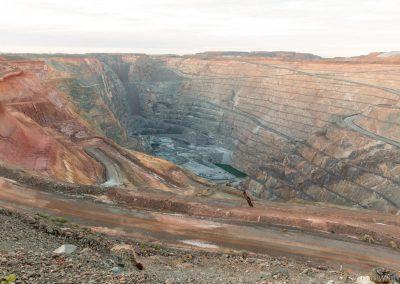 KCGM Super-Pit Open Cut Lookout, Kalgoorlie-Boulder, West-Australien