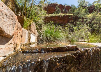 Fortescue Falls, Dales Gorge, Karijini NP, West-Australien