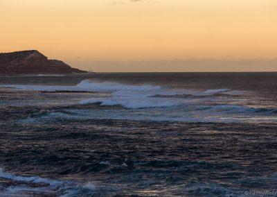 Blick zum Red Bluff, Kalbarri NP, West-Australien