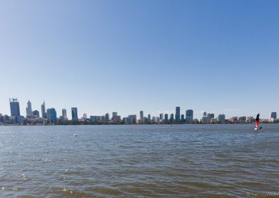 Skyline Perth, West-Australien
