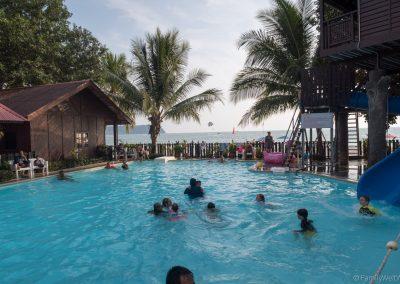 Pool des Malibest Resort, Cenang Beach, Langkawi