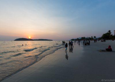 Sonnenuntergang, Cenang Beach, Langkawi