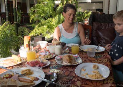 Frühstück Cabana Lipe, Ko Lipe