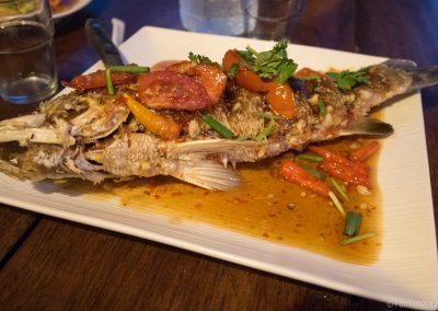 Fisch zum Abendessen, Ko Lipe