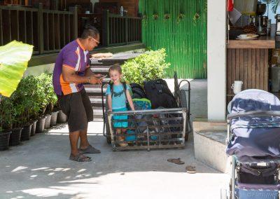 Gepäck-Taxi, Cabana Lipe, Ko Lipe