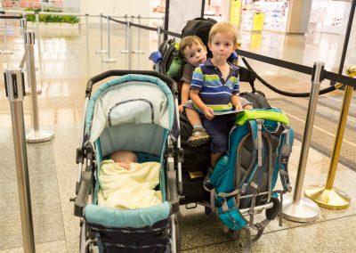Rückreise Flughafen Singapur